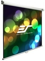 "Elite Screens 106""(16:9) 132,1x234,7cm Manual Pull Down Screen, White"