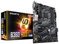 Материнская плата GIGABYTE  B360 HD3