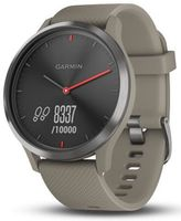 Фитнес-трекер Garmin Vivomove HR Black, Sandstone Silicone Band