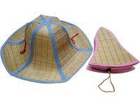 купить Шляпа соломенная D45cm, 6 граней в Кишинёве