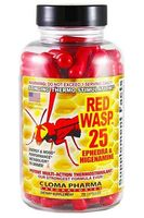 Cloma Pharma Red Wasp 25 75cap
