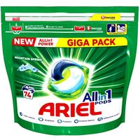 Detergent de rufe Ariel Allin1 Pods 74 capsule