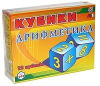 Tehnok-Intelkom Cuburi din carton Matematica