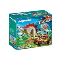 Explorer Vehicle With Stegosaurus, PM9432