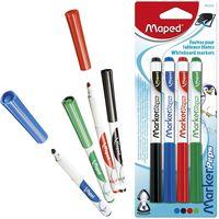 MAPED Набор маркеров для доски MAPED Classic, 4 цвета, блистер