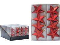 Набор звездочек 8X65mm, красные