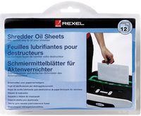 Rexel Салфетки масляные REXEL для уничтожителя A5, 12 штук