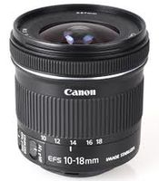 Zoom Lens Canon EF-S 10-18mm f/4.5–5.6 IS STM
