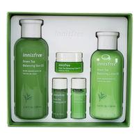 Green Tea Balancing Skin Care Set EX Innisfree Набор для ухода за кожей с экстрактом зеленого чая