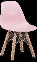 купить Деревянный стул с металлическими ножками, 500x460x450x820 мм, розовый в Кишинёве