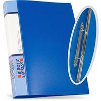 Birotic Express Папка скоросшиватель BExpress А4 на пружине синяя