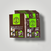 Șampon colorant – Brown MEN'S MASTER 10x25ml MM23