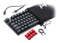 cumpără HyperX Alloy FPS Mechanical Gaming Keyboard (RU), Mechanical keys (Cherry® MX Blue key switch) Backlight (Red), 100% anti-ghosting, Key rollover: 6-key / N-key modes, Ultra-portable design, Solid-steel frame, Convenient USB charge port, USB în Chișinău