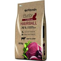 Сухой корм для кошек Fitmin Purity Hairball 10 Kg