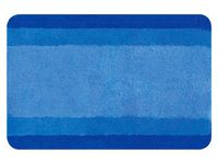 Коврик для ванной комнаты 60X90cm Balance синий, полиэстер