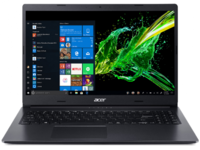 "ACER Aspire A315-55G Charcoal Black (NX.HNSEU.00L) 15.6"" FHD (Intel Core i5-10210U 4xCore 1.6-4.2GHz, 8GB (1x8) DDR4 RAM, 512GB PCIe NVMe SSD, NVIDIA GeForce MX230 2GB GDDR5, w/o DVD, WiFi-AC/BT, 3cell, 0.3MP webcam, RUS, Linux, 1.9kg)"