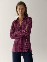 Блуза Massimo Dutti Принт 5162/871/605