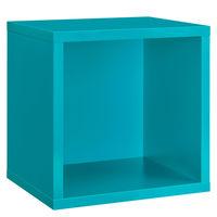 купить Навесной шкафчик Clic 375x375x326 мм, бирюзовый в Кишинёве