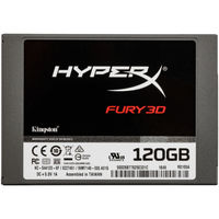 "2.5"" SSD 120GB  Kingston HyperX FURY 3D"