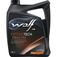 Масло моторное WOLF, 5W40 EXTENDTECH HM 5L