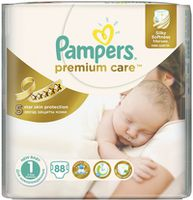 Pampers Premium Care 1 (2-5 кг.) 88 шт.