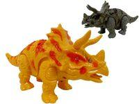 Динозавр (трицератопс) шагающий музыкальный 22cm