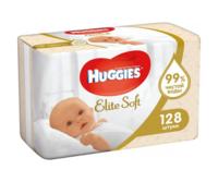 Влажные салфетки Huggies Elite Soft, 2 x 64 шт.