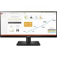 """29.0"""" LG """"29UB67-B"""" Black (IPS, 2560x1080, 5ms, 300cd, LED Mega DFC, HDMI+DP+DVI, HAS/Pivot, 2x5W) (29.0"""" IPS W-LED, 2560x1080 UWHD, 0.263mm, 5ms GTG, 300 cd/m², CR 1000:1 (Mega DFC), sRGB 99% 16.7M Colors, 178°/178° @C/R>10, DisplayPort + HDMI x2 + DVI-D, Headphone-Out, Built-in speakers 5Wx2, USB 3.0 x3-Hub, Built-in PSU, HAS 130mm, Tilt: -5°/+35°, Swivel +/-45°, Pivot, VESA Mount 200x200, Screen Split, PiP/PbP, Dual Link-up, Flicker Safe, Black)"""