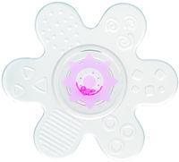 Canpol Прорезыватель силиконовый с погремушкой Звёздочка