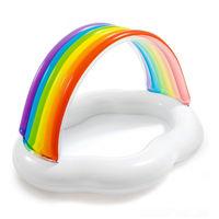 Intex Детский надувной бассейн Радуга Облако