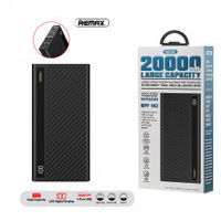 Remax Linon Pro Power Bank, 20000mAh Black