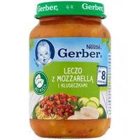 Gerber piure Lecho cu mozzarella și tăiței 8+ luni, 190 g