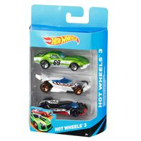 Mattel Hot Wheels Set maşini metalice, 3 buc.