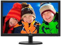 """21.5"""" Philips """"223V5LSB2"""", Black (1920x1080, 5ms, 200cd, LED10M:1) (21.5"""" TFT+LED backlight, Full HD(16:9) 1920x1080, 0.248mm, 5ms, SmartContrast: 10000000:1 (600:1), 200cd/m2, 90°/50° (C/R>10), H:30-83kHz, V:56-75Hz, D-Sub)"""