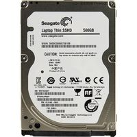 ".500GB HDD 2.5"" Seagate Hybrid ST500LM000 Laptop Thin SSHD 8GB MLC Flash, 2.5"", 5400rpm, 64Mb, 7.5mm, SATAIII ( Up to 5x faster than a traditional 5400rpm )"