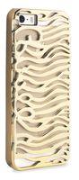 JustCavalli Perforated zebra for iPhone 5/5S (JCIPC5PZEBRAGOLD)