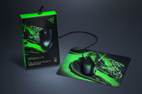 Combo Mouse Razer Abyssus Lite + Mouse pad, Black