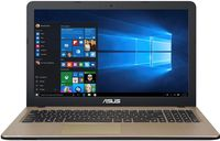 """NB ASUS 15.6"""" X540LJ Red (Core i3-5005U 4Gb 1Tb) 15.6"""" HD (1366x768) Glare, Intel Core i3-5005U (2x Core, 2.0GHz, 3Mb), 4Gb (OnBoard) PC3-12800, 1Tb 5400rpm, GeForce 920M 2Gb, HDMI, No ODD, 100Mbit Ethernet, 802.11n, Bluetooth, 1x USB 3.1 Type C, 1x USB 3.0, 1x USB 2.0, Card Reader, Webcam, DOS, 3-cell 33 WHrs Li-Ion Battery, 2.0kg, Red"""