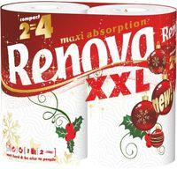 купить RENOVA Бумажные полотенца Cristmas XXL (2) в Кишинёве