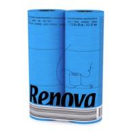 купить Renova Туалетная бумага голубая ( 6) в Кишинёве