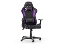 Gaming Chair DXRacer Formula GC-F08-NV, Black/Violet, User max loadt up to 150kg / height 145-180cm
