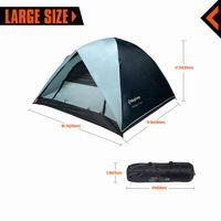 Палатка 3` KingCamp Family 2+1 KT3012 (972) BLUE/GREY