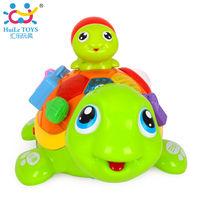 Huile Toys Черепаха с музыкой и светом
