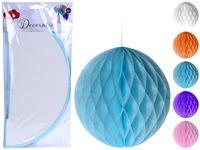 """Набор шаров """"Party"""" бумажных веерных 3шт D30cm"""