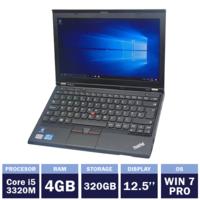"Ноутбук Lenovo ThinkPad X230 Black (12,5"" | Intel Core i5-3320M | 4GB RAM | 320GB HDD | Windows 7 Pro)"