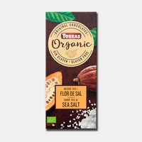 Шоколад темный bio 70% какао с морской солью Torras без глютена 100г