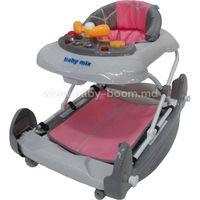 Baby Mix OSK-J-888R-GR/P Ходунки розовый