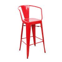 купить Металлический стул 510x530x1040 мм, красное в Кишинёве