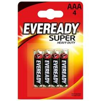 Батарейка EVEREADY Super HD AAA/4 блистер