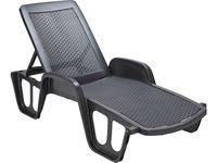 купить Кресло-шезлонг раскладное 190X75X46cm, пластик в Кишинёве